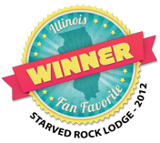illinois fan favorite winner starved rock lodge 2012